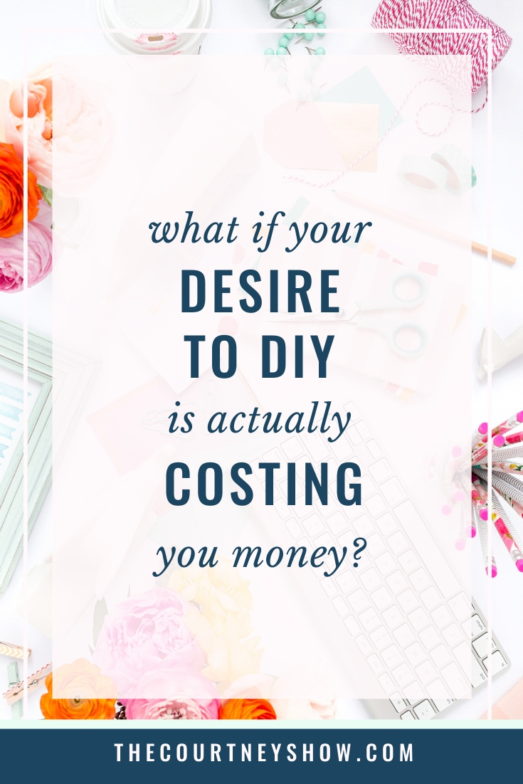 what if your desire to DIY your course is costing you money